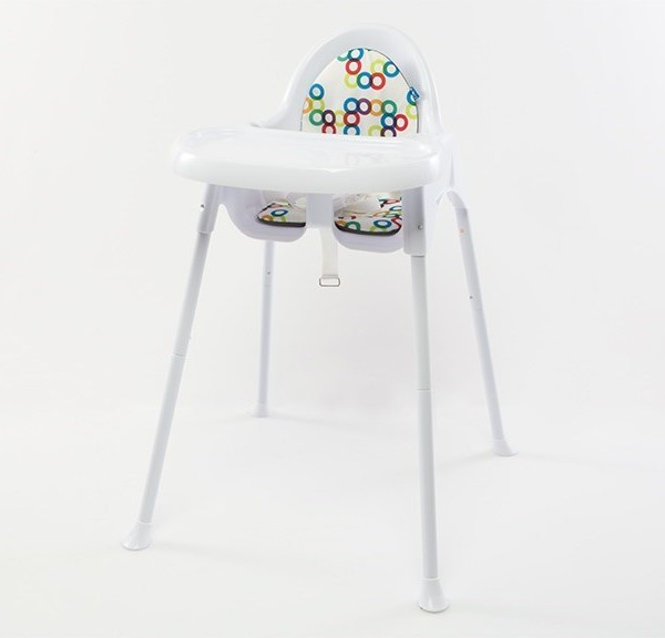 Childcare Fizz Geo high chair 1 600x576
