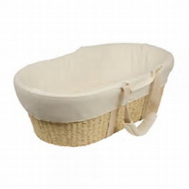 bebecare moses basket natural 212x212