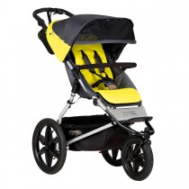 mountain buggy terrain 3 wheeler all terrain stroller solus 3 4 view