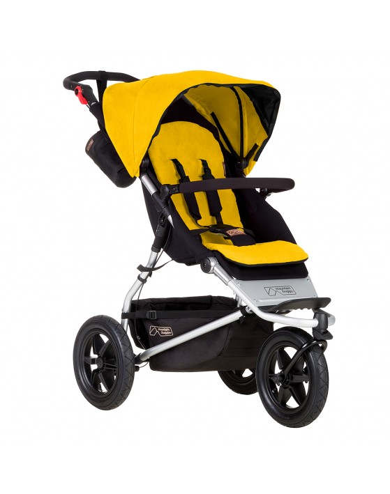 mountain buggy urban jungle gold stroller