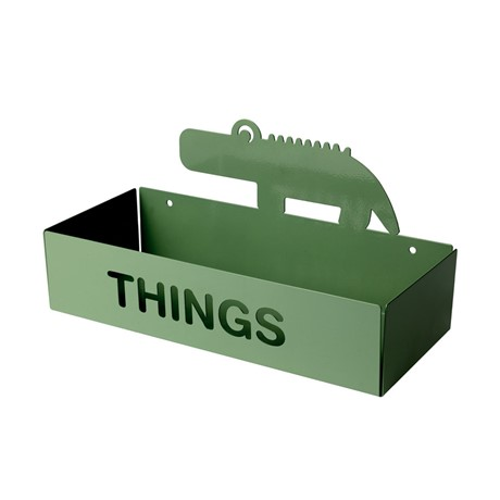 things shelf green