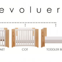 Cocoon Evoluer Cot Mattress Set 212x212