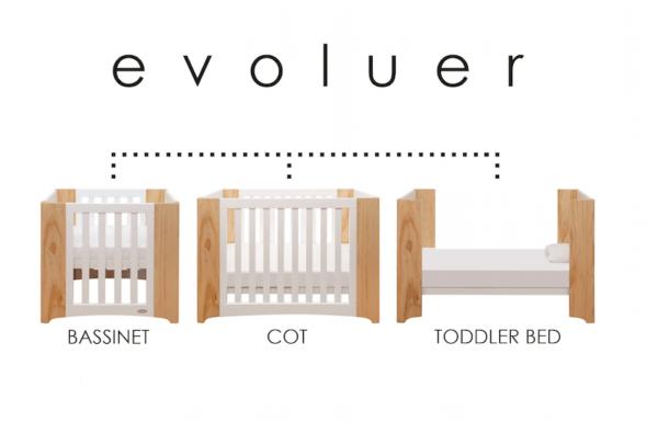 Cocoon Evoluer Cot Mattress Set 600x385