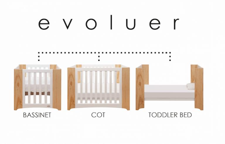 Cocoon Evoluer Cot Mattress Set 768x492