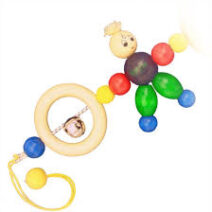 GEPETTO PRAM RATTLE BILLY DOLL 77 212x212