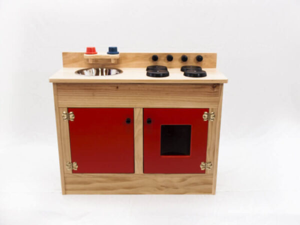 WOODEN COMBINATION SINK:STOVE