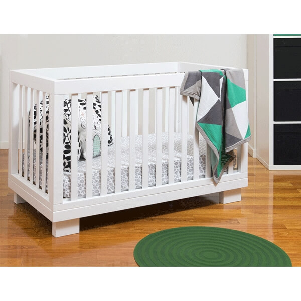 cocoon aston cot white 1