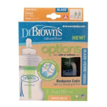 dr browns glass 150ml x 2