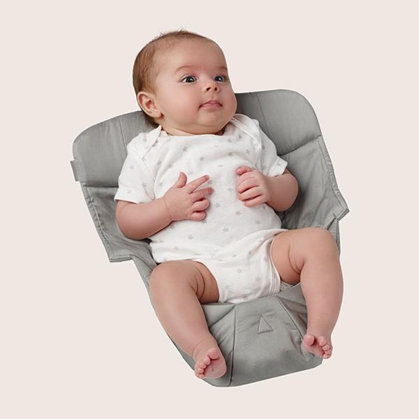 eb SNUG SEAT WITH BABY GREY