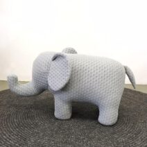 ELEPHANT CHAIR SMALL GREY