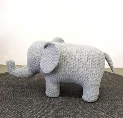 ELEPHANT CHAIR SMALL GREY