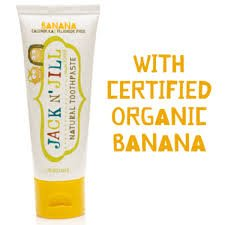 JACK AND JILL TOOTHPASTE BANANA