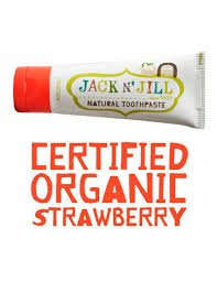 JACK AND JILL TOOTHPASTE STRAWBERRY
