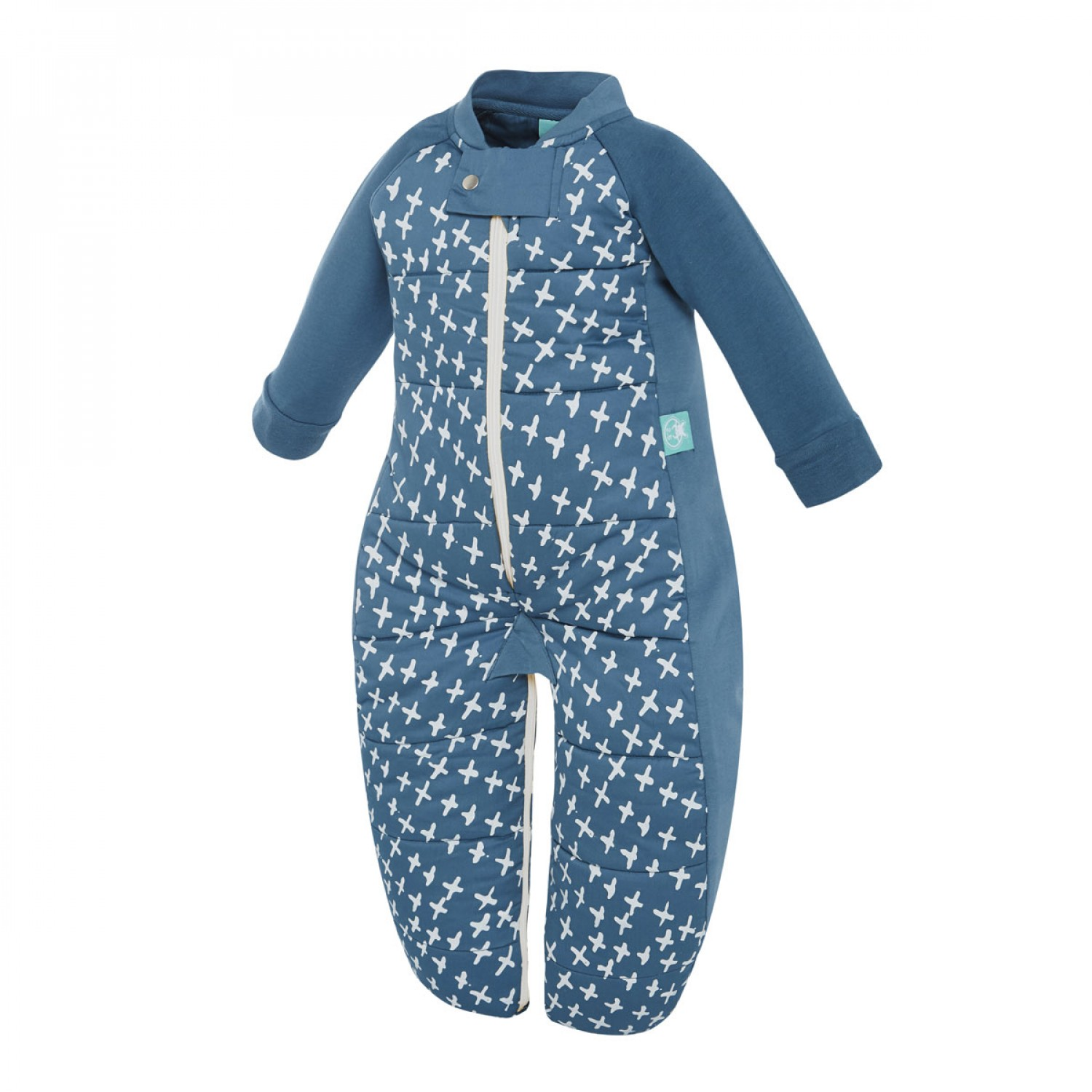 ergopouch 35 tog winter 2 in 1 sleep suit sleep bag new navy cross
