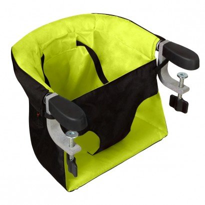 mountain buggy pod portable highchair in lime 3 4 view product large