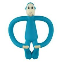 MATCHSTICK MONKEY TEETHING TOY/GEL APPLICATOR  – BLUE
