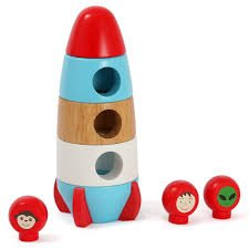DISCOVEROO MAGNETIC STCKING ROCKET