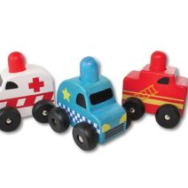 DISCOVEROO SQUEAKY CAR SET 212x212