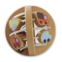 Discoveroo Wooden Play Ball: Traffic