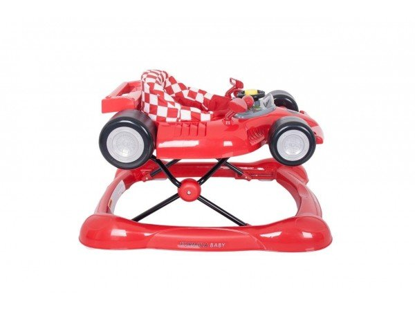 formula baby walker   rocker red   1