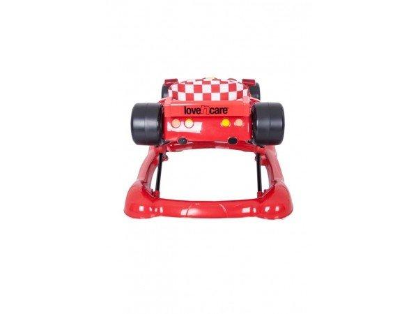 formula baby walker   rocker red   3