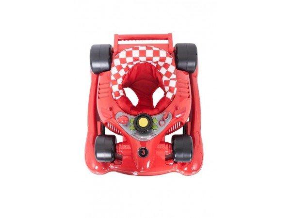 formula baby walker   rocker red   4