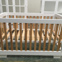 COCOON LUXE COT .  natural/white Incl. Free Mattress