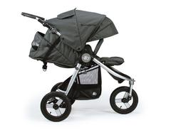 Bumbleride Indie All Terrain Stroller Dawn Grey Profile View 240x240