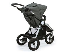 Bumbleride Indie All Terrain Stroller Dawn Grey Rear View 240x240