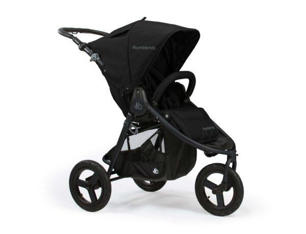 Bumbleride Indie All Terrain Stroller Matte Black 1500x1500 600x458