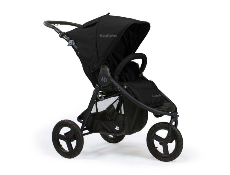 Bumbleride Indie All Terrain Stroller Matte Black 1500x1500 768x586