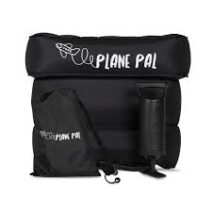PLANE PAL INFLATABLE TRAVEL PILLOW Incl: PUMP