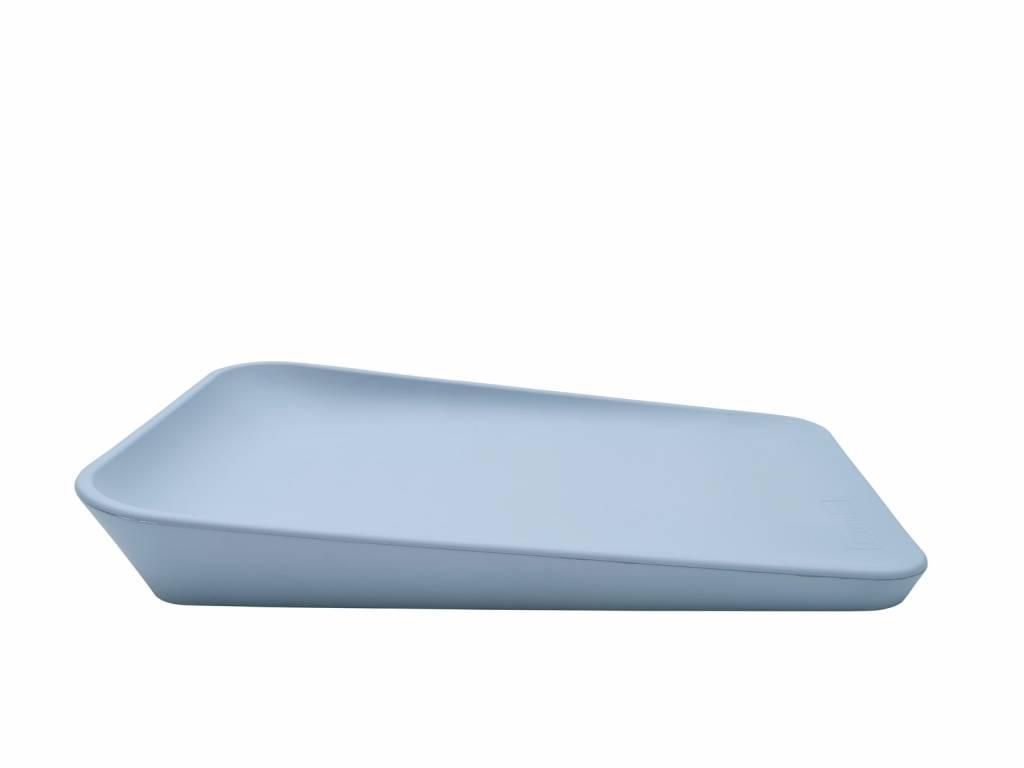 leander matty changing cushion pale blue