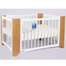 TASMAN  ROMA COT AND CHEST PACKAGE – SANDSTONE/WHITE