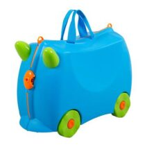 KIDDICARE Bon Voyage Ride On Suitcase Blue Hero 360x 212x212