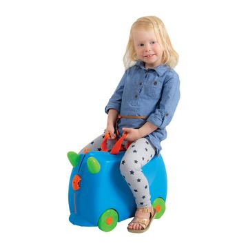 KIDDICARE Bon Voyage Ride On Suitcase Blue LS3 360x