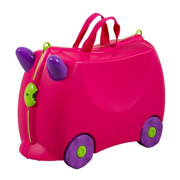 KIDDICARE Bon Voyage Ride On Suitcase Pink 360x