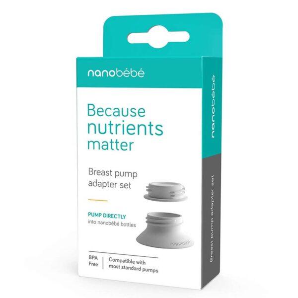 nanobebe breast pump adaptor set 4 600x600