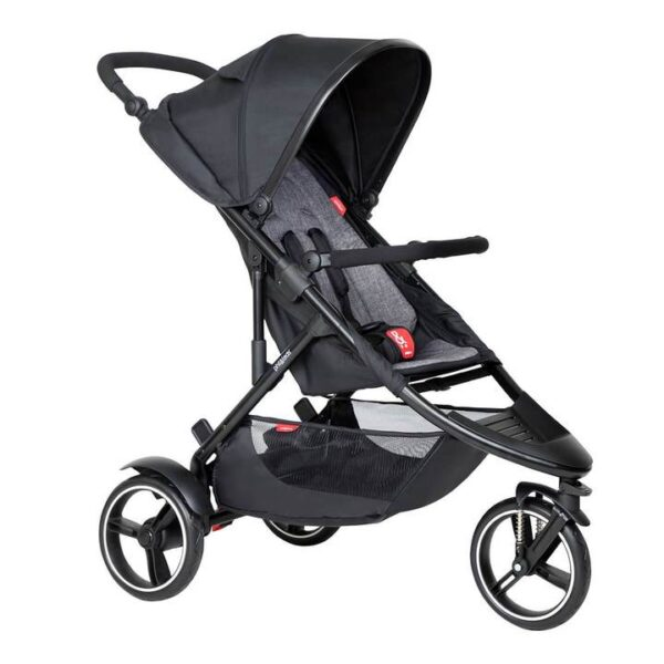 phil teds dot buggy in charcoal grey colour 720x 600x600