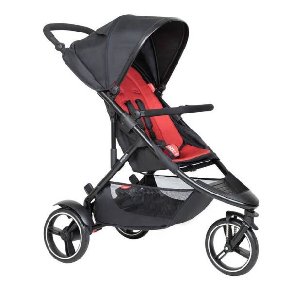 phil teds dot buggy in chili red colour 720x 600x600