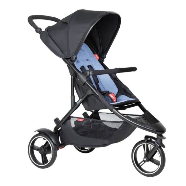 phil teds dot buggy in sky blue colour 720x 600x600