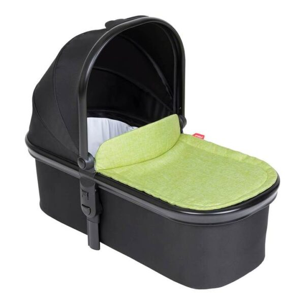 phil teds snug carrycot in apple green colour 720x 600x600