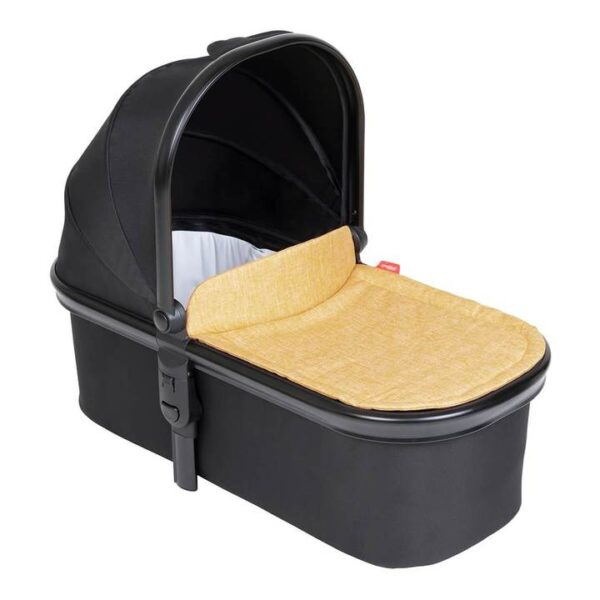 phil teds snug carrycot in butterscotch brown colour 720x 600x600