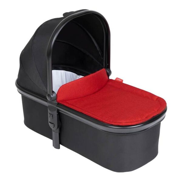 phil teds snug carrycot in chili red colour 720x 600x600