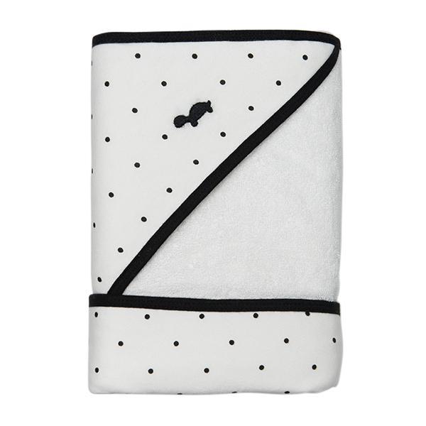 Little Turtle Baby Hooded Towel Black Dots folded x 7909e9a5 f5b7 4721 a4c4 143f58594a88 760x