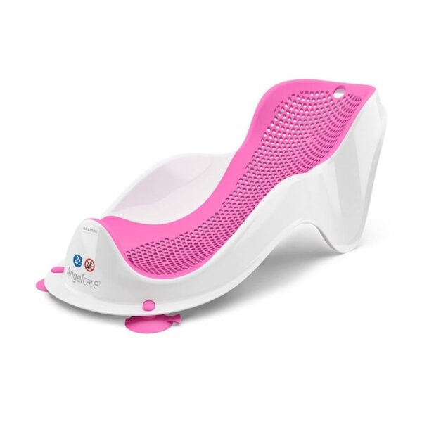 angelcare baby bath support fit pink 1 600x600