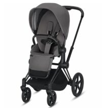 cybex priam pram manhattan grey matt black 1 212x212
