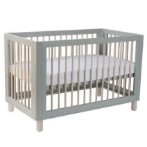 Cocoon Allure 4 in1 Cot Dove Grey/ Natural Wash (Includes Mattress)