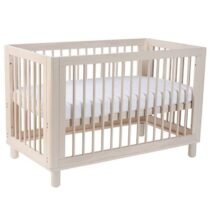 Cocoon Allure 4 in1 Cot  Natural Wash (Includes Mattress)