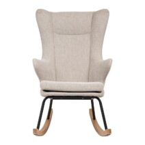 Quax Deluxe Adult Rocking Nursing Chair – Sand Grey